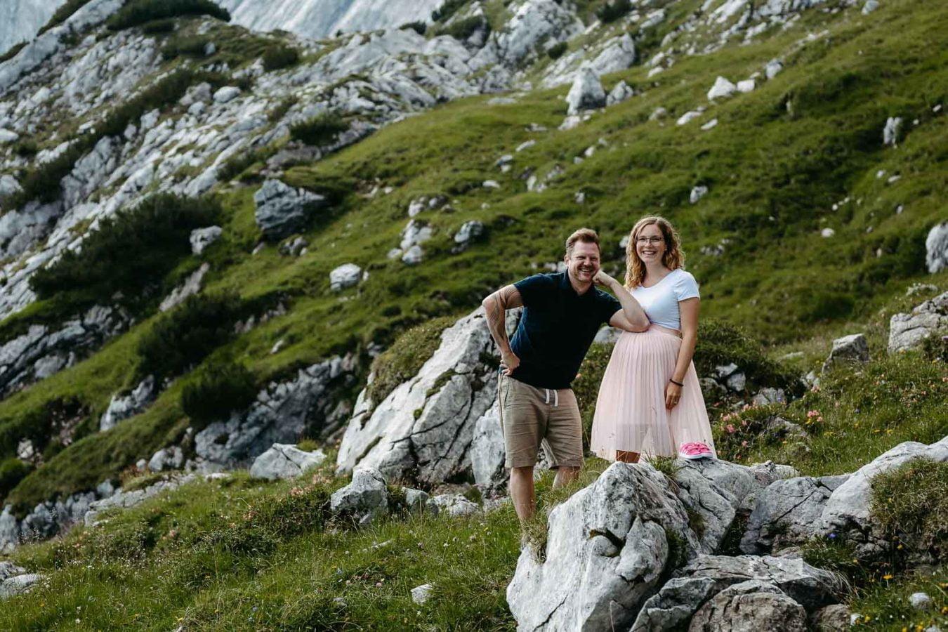 Babybauchshooting Alpspitze 3