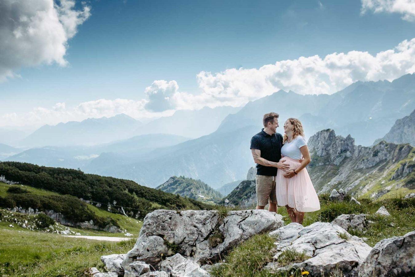 Babybauchshooting Alpspitze 6