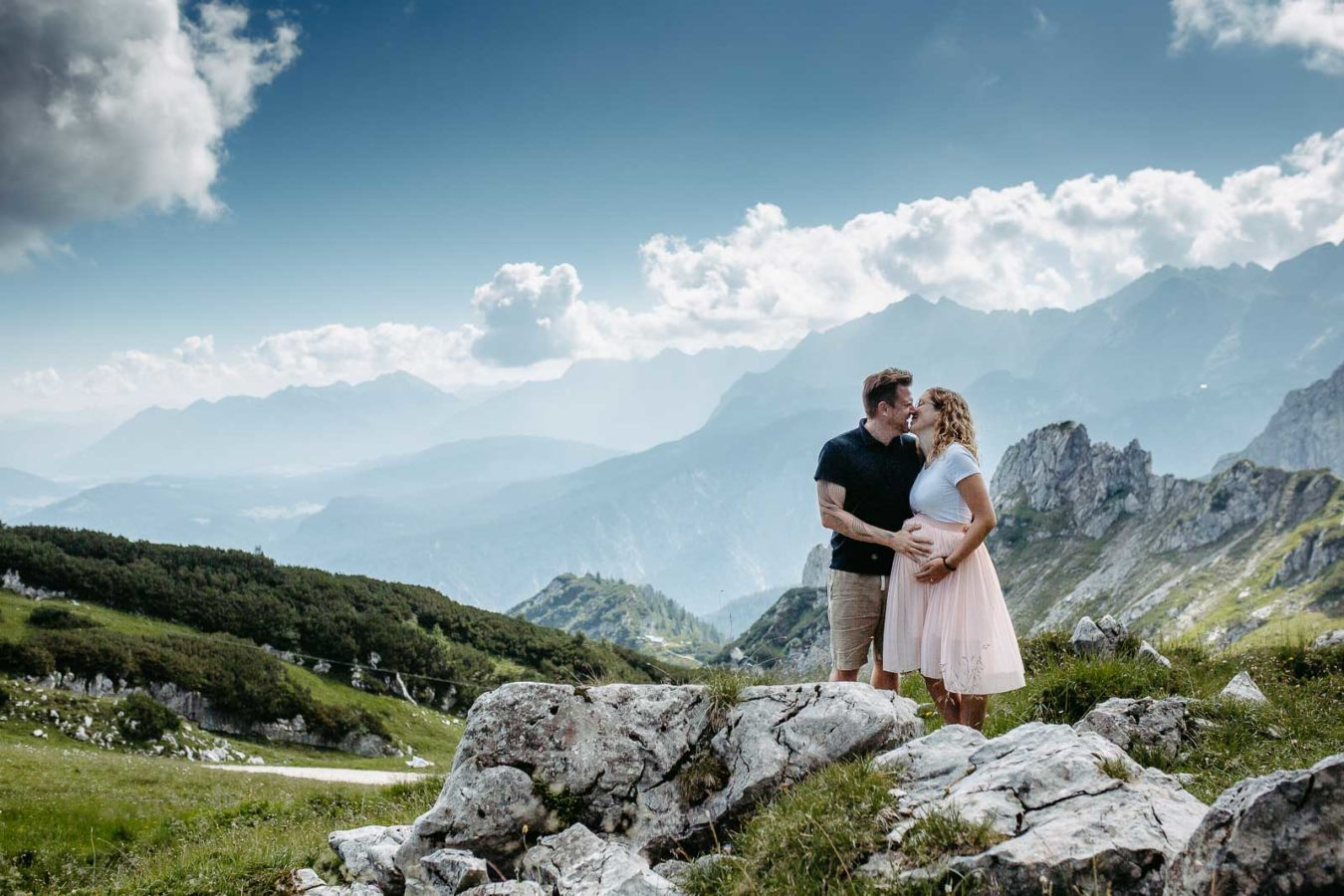 Babybauchshooting Alpspitze 7